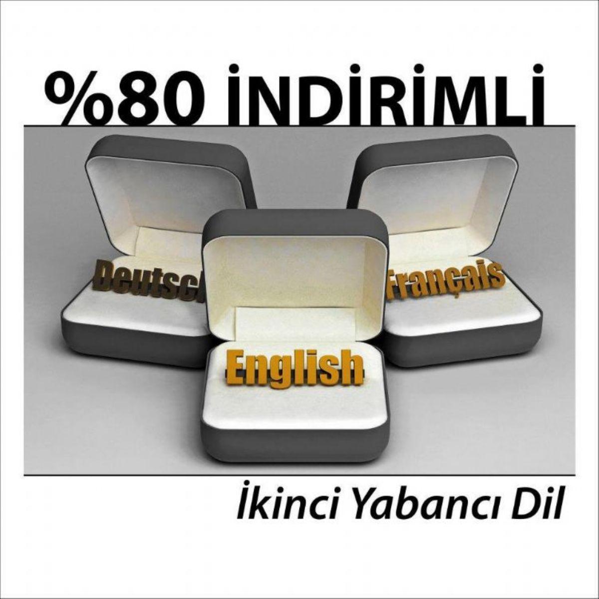 %80 Ýndirimli 2. Yabancý Dil